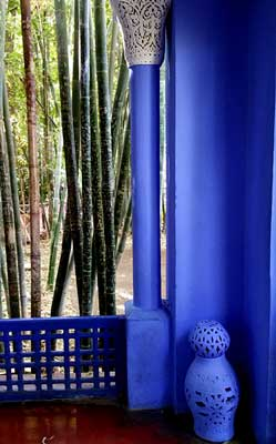 Jardin Majorelle von Yves Saint Laurent in Marrakesch